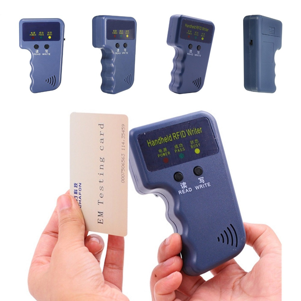 Ручной 125 кГц EM4100 RFID копировальный аппарат писатель Дубликатор Программист считыватель совместимый с EM4305 T5577 CET5200 EN4305