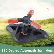 360 Degree Automatic Garden Sprinklers Agricultural gardening Watering Grass Lawn Rotary Nozzle Rotating Water Sprinkler System 4 points alloy nozzle automatic rotation lawn watering gardening watering cooling agricultural spray irrigation
