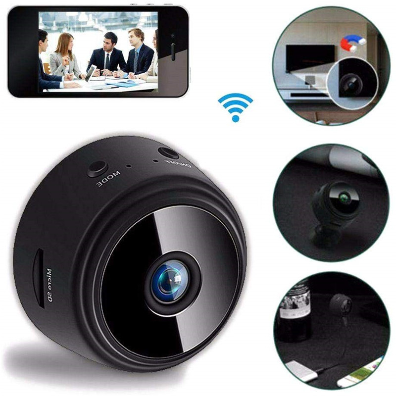 Mini Drahtlose Versteckte Sicherheit Überwachung Nachtsicht Full HD, Digital Video Recorder für iOS iPhone und Android