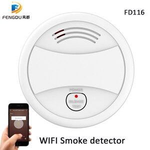 Image 3 - Smoke Detector Wifi Smoke Alarm Tuya Smartlife APP Android IOS Control Fire Protection Portable Alarm Detector