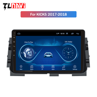 10.1 inch Android 8.1 car dvd gps navigation For Nissan kicks 2017 2018 multimedia radio dvd system