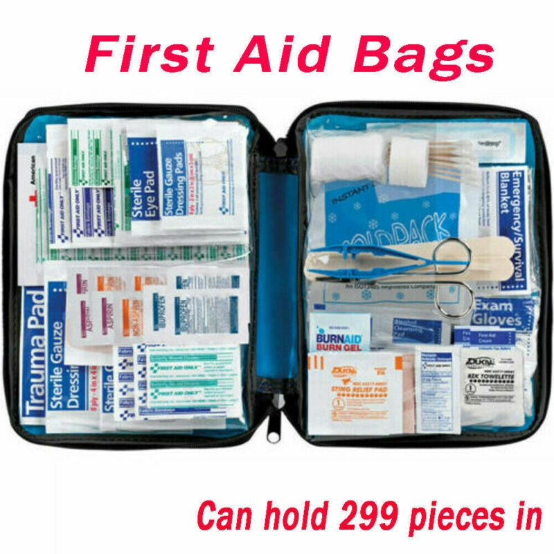 Medical Tactical 299Pcs First Aid Kit Bags Emergency Responder Kit Survival Home Outdoors Medical Bag  Emergency Survival