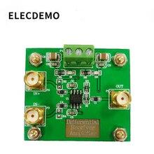 Amplificateur de récepteur différentiel, AD8130, à une extrémité, haut Mode commun, Ratio de rejet, faible bruit, faible distorsion