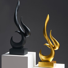 Modern Abstract Art Ornaments Home Decoration Modern Living Room Home Decoration Office Decoration Resin Ornaments Sculpture