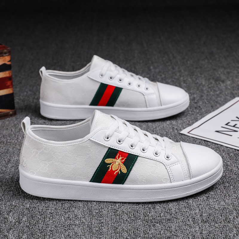 Summer Men Canvas Shoes Bee Mesh Breathable Lace Up Sneakers Men Non-Slip High Top Quality Zapatos Blancos Men Tenis Masculino