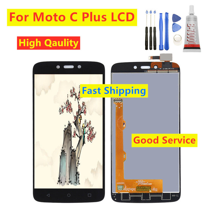 High quality For Motolora MOTO C Plus lcd display touch screen For Moto Cplus XT1721 XT1722 <font><b>XT1723</b></font> XT1724 lcd digitizer parts image