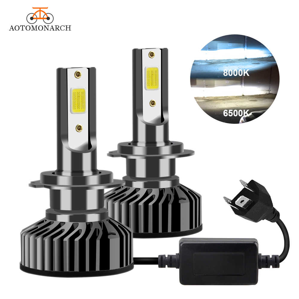 AOTOMONARCH H4 LED H7 Car Lights Bulbs H3 H8 H9 H11 881 9005 LED H1 9006 Car Headlight Lights For Auto Universal 12V AE