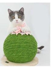 Cactus Cat Scratch House Cuerda Sisal Rope Scratching Board  Pad Anti-Scratch Sofa Protection Canape Kitten Climbing Frame