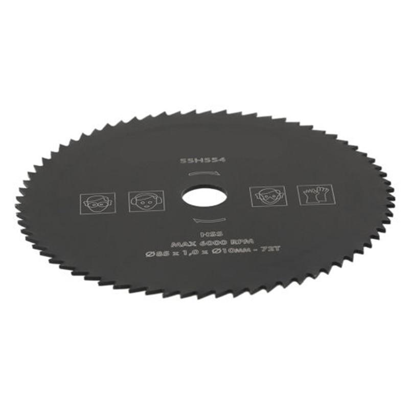 1pc Grinder Saw Disc 72T 85mmx10mm HSS Woodworking Circular Saw Blade Wood Metal Cutting Disc Wheels