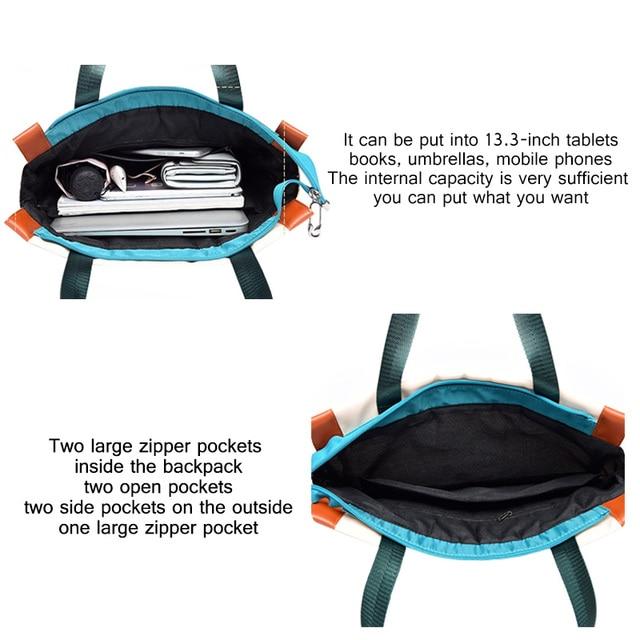 Oxford Women Backpacks Girls Book Bags Fashion Lady Shoulder Backpack Waterproof Anti-theft Business Bag Teenage Girl Laptop Bag 5
