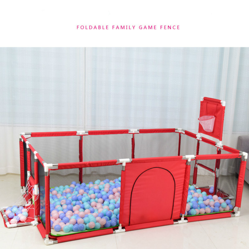 Big Children Playpen Kids Safety Barrier <font><b>Baby</b></font> Playpen For Child <font><b>Pool</b></font> <font><b>Balls</b></font> Newborn Fence Playpen For <font><b>Baby</b></font> <font><b>Pool</b></font> image