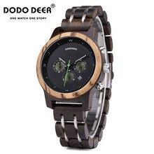DODO montre à Quartz cerf pour femmes, de luxe avec chronographe de Date, style de luxe, élégant en bois, Logo, accepte le Logo, pour dames, livraison directe B16