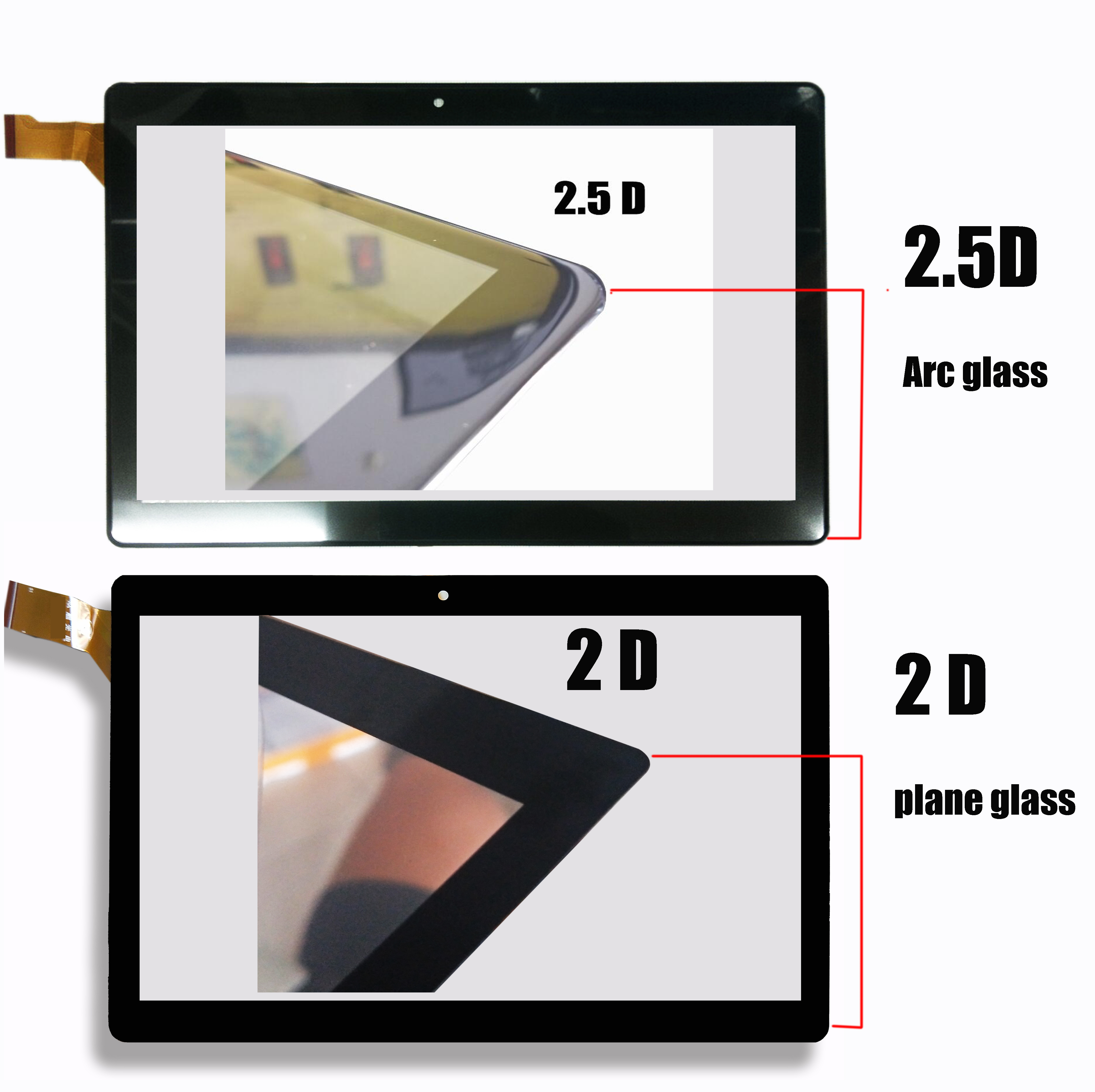 """10.1"""" New Touch Screen fo Archos Oxygen 101 4G AC101OX4G Tablet Touch Panel Digitizer Glass Sensor replacement(China)"""