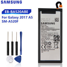 Оригинальная Замена батареи eb ba520abe для samsung galaxy a5