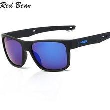 Солнцезащитные очки в квадратной оправе uv400 для мужчин классические