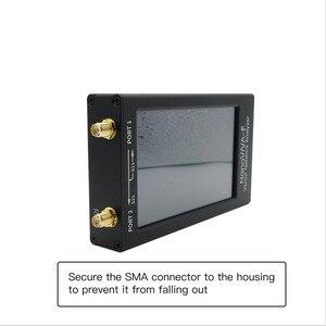 "Image 5 - TZT 50KHz 1.5GHz HF VHF UHF VNA vecteur NanoVNA Kit danalyse de réseau avec 4.3 ""LCD boîtier en métal daffichage nanovna f/H1/H4"