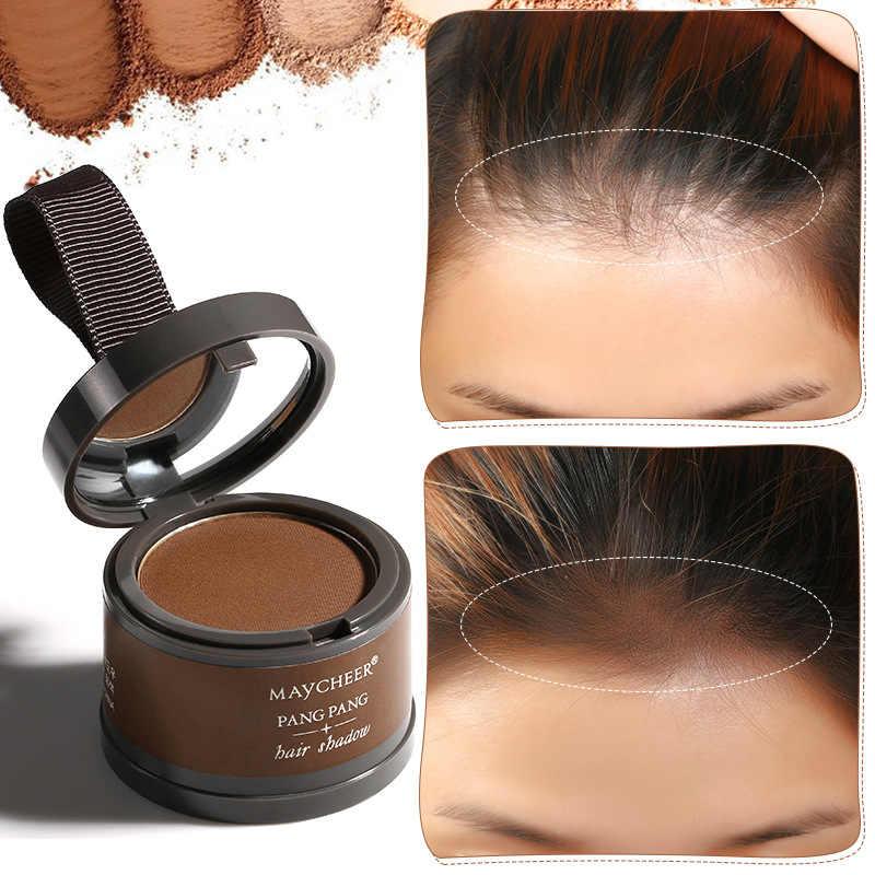 4 Kleur Haar Shadow Poeder Waterdichte Haar Lijn Rand Controle Poeder Haar Lijn Shadow Wortel Cover Up Make Hair Concealer TSLM1