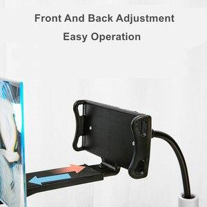 Image 3 - เครื่องขยายเสียงหน้าจอเดสก์ท็อปผู้ถือโทรศัพท์สำหรับ iPhone XS MAX Galaxy 4.5 7.0 นิ้วโทรศัพท์หน้าจอแว่นขยาย 3D ภาพยนตร์ HD