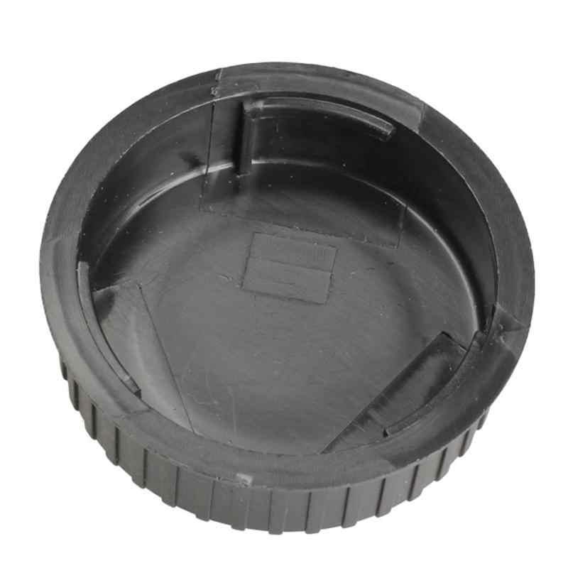 1 sztuk osłona obiektywu tylna pokrywa Protector 5.6 × 1.7cm czarne szkła tylna pokrywa akcesoria do aparatu dla wszystkich Nikon DSLR SLR Dust Camera LF-4