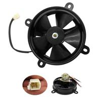 6 Polegada radiador thermo elétrico ventilador de refrigeração 150c 200cc quad dirt bike atv buggy ventilador de refrigeração alta qualidade|Ventiladores e Kits|Automóveis e motos -