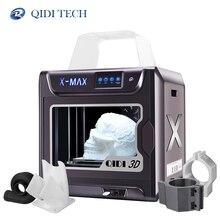 QIDI ขนาดใหญ่ 3D เครื่องพิมพ์ X MAX 300 * * * * * * * * 250 300 impresora 3D PLA TPU PC PETG ไนลอนคาร์บอนไฟเบอร์พิมพ์ facesheild