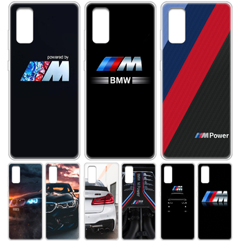 Sports car BMW Phone Case cover hull For SamSung Galaxy S 6 7 8 9 10 20 Edge Plus E Lite 5G Ultra transparent waterproof trend image