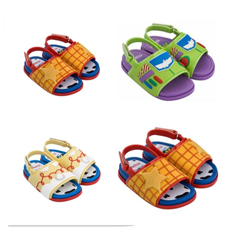 Mini Melissa Cosmic Sandal Toy Story Girl Boy Jelly Shoes Sandals 2020 Baby Shoes Melissa Sandals Non-slip Kids Shoes Sandals