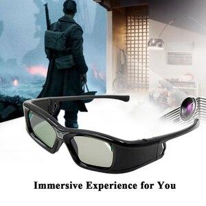 Image 5 - GL410 3D משקפיים עבור מקרן מלא HD פעיל DLP קישור משקפיים עבור Optama Acer BenQ ViewSonic חד Dell DLP קישור מקרנים
