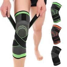 цена на 1PCS Professional Protective Fitness Knee Support Breathable Bandage Elastic Brace Protector Sports Kneepad Basketball Cycling