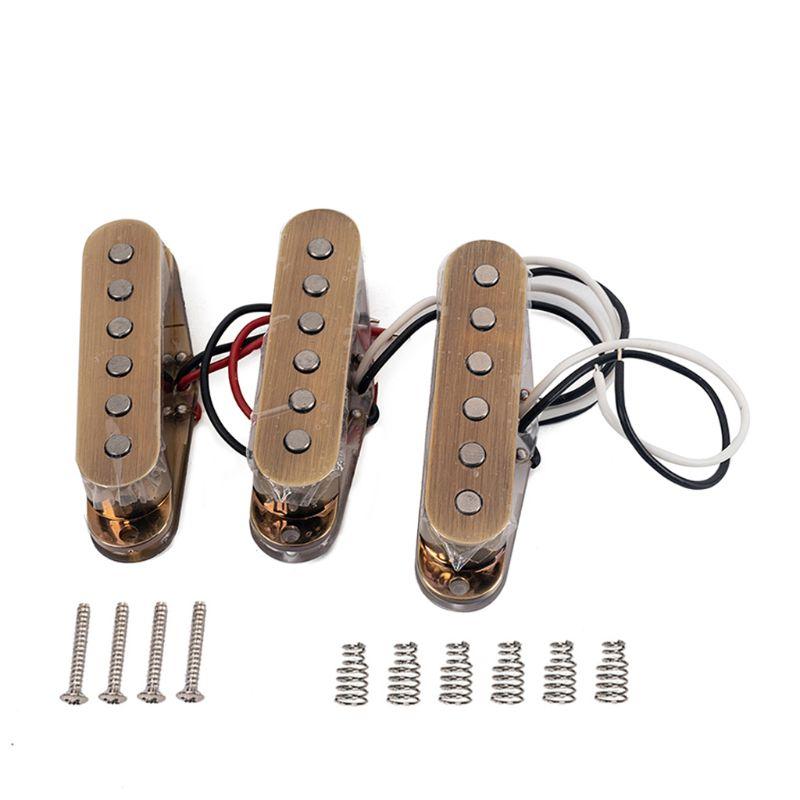 1 Set Pickups Alnico 5 48/50/52 for Stratocaster Strat ST SG Electric Guitar