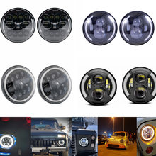 Car Styling Accessories LED Daytime Running Lights DRL Lamps for Lada Niva 4x4 1995   with Running Turn Signal Light Lamp Relay(China)