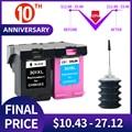 QSYRAINBOW Замена для hp 301 чернильных картриджей hp 301 xl Deskjet 2050 1510 1050 1510 2000 2510 2540 3050a 3054 принтер hp301
