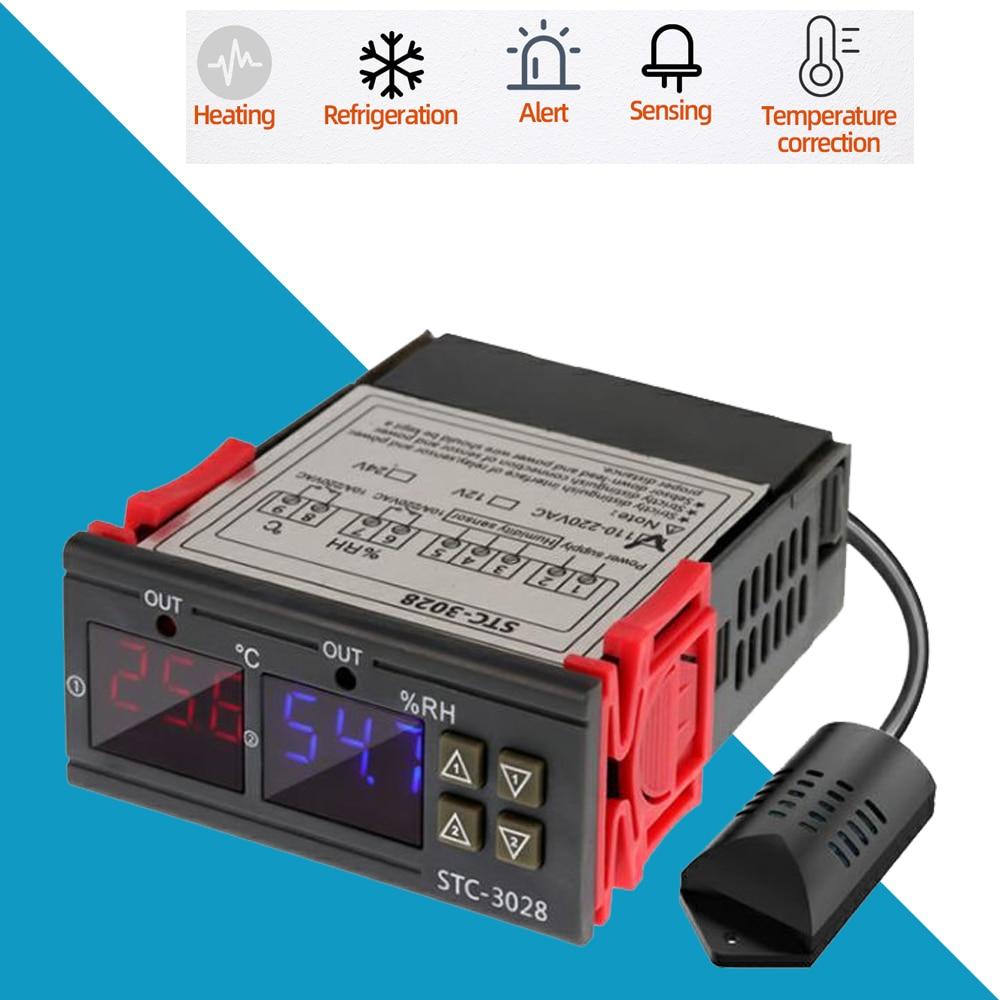 Thermostat Refroidissement Chauffage Sonde Prise Controleur Temperature Serre