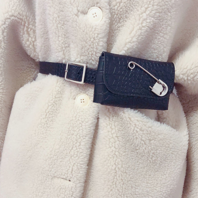 Small Waist Pack Leather Fanny Pack Waist Belt Bags For Women 2019 Mini Belt Bag Female Fashion Waist Bag High Quality Purse