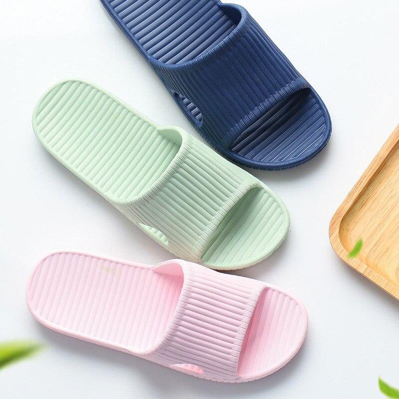 2019 Home Slippers Summer Thick Bottom Anti-slip Interior Slippers