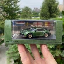 Масштаб 1:64, оригинальный литой металлический автомобиль, модель 911, игрушка для коллекционного автомобиля, Сувенирные игрушки с дисплеем