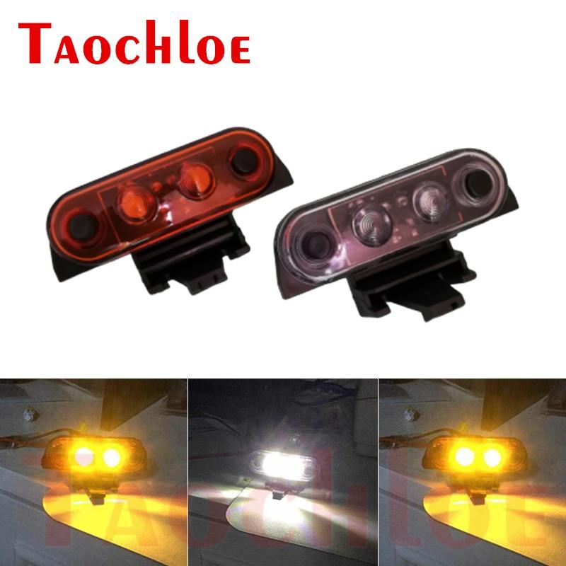 1Pc Amber Wit 24V Top Lamp Voor Volvo Fh Heavy Truck Top Lichten Oem 82116545|Autolampen Montage|   - AliExpress