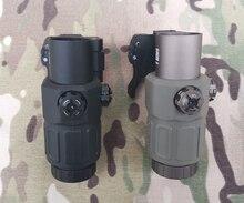 Lente d'ingrandimento G33 3x di alta qualità e punto rosso/verde 558 con attacco rapido/QD