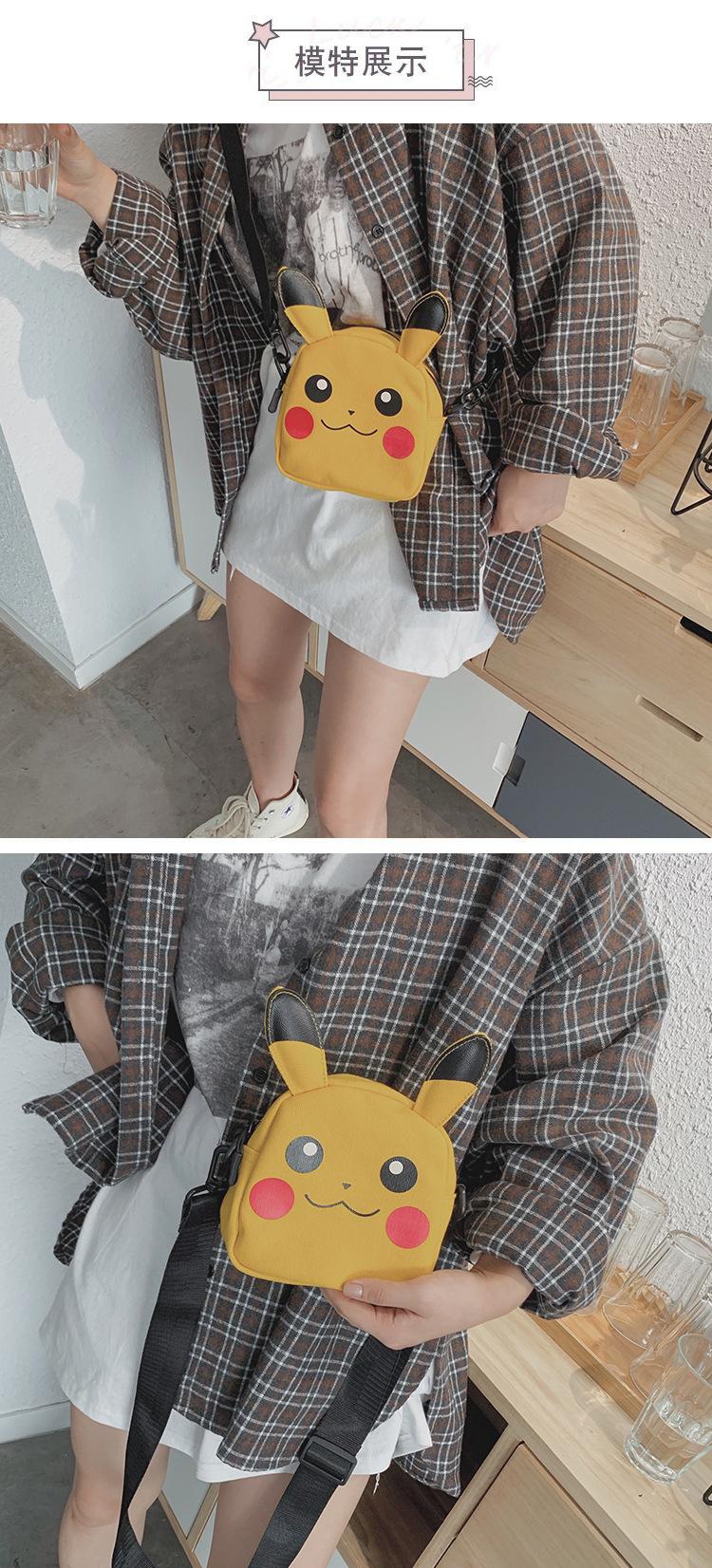Bolsa feminina Pikachu Pokemon
