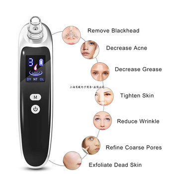 1Pcs Electric blackhead remover Nose Face Blackhead Acne Vacuum Cleaner Pore Skin Care Tools Deep Cleansing Suction Machine 2
