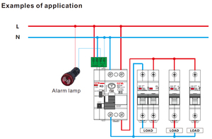 Image 5 - GEYA 6KA ELCB RCCB 2P Automatic Reclosing Device Remote Control Circuit Breaker Recloser RCD 40A 63A 30mA