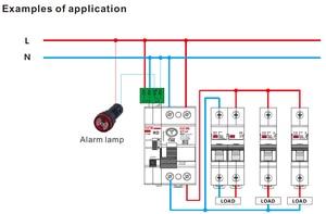 Image 5 - GEYA dispositif de fermeture automatique 6KA ELCB RCCB 2P, disjoncteur, télécommande RCD 40A 63A 30mA