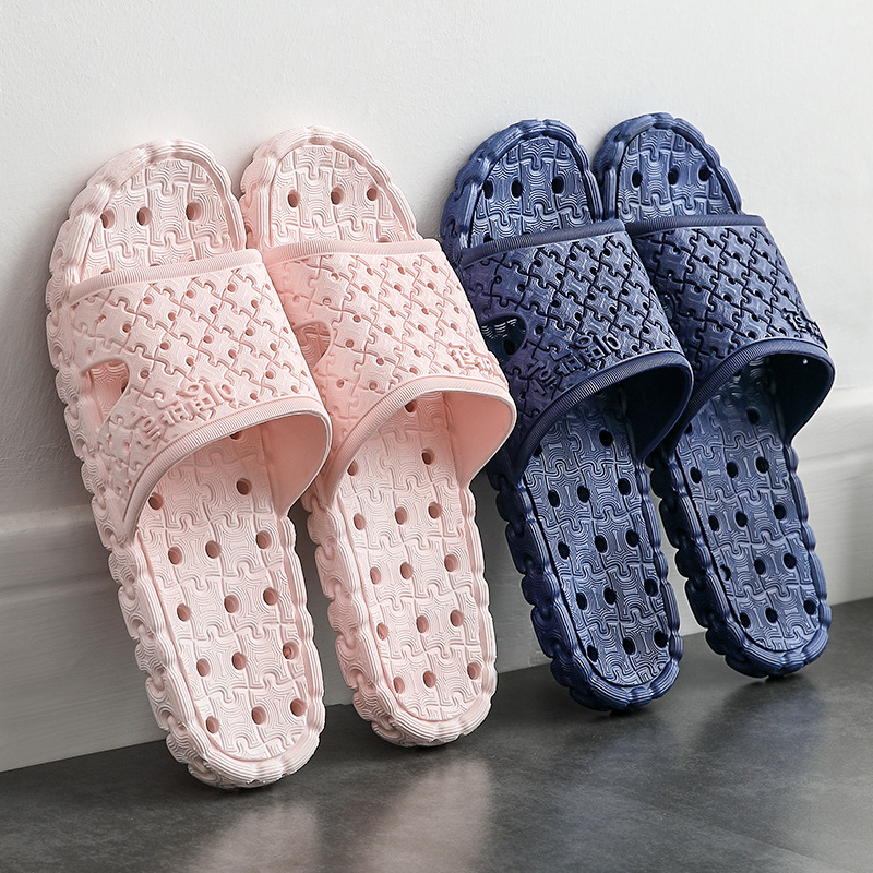 New Women Indoor Floor Flat Shoes Summer Non-slip Flip Flops Bath Home Y9Y0019