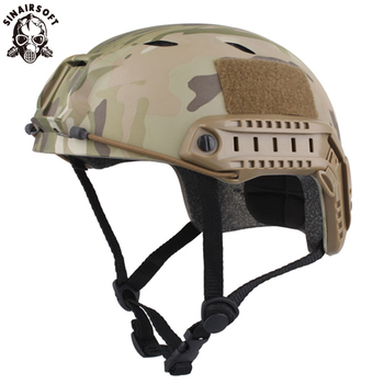 emersongear emerson abs fast helmet bj type bump jump helmet protective adjustable airsoft climbing tactical helmet wear Tactical Fast Helmet Base Jump Type Durable Airsoft Lightweight Helmet Painball CS SWAT Hunting Hiking Cycling Sports Safety