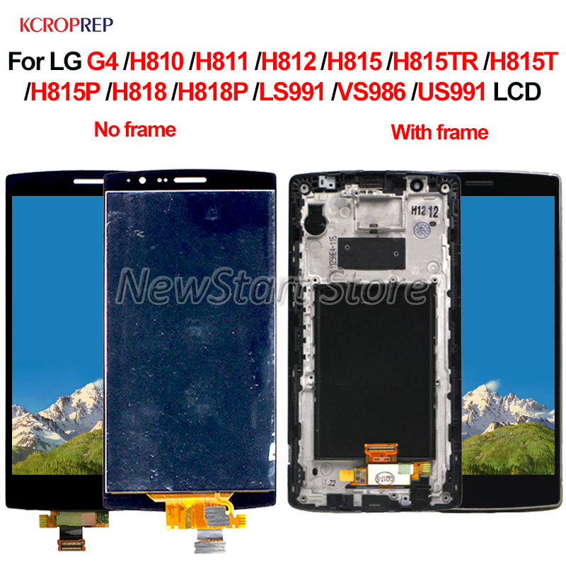 """For LG G4 H810 H811 H815 H815T H818 H818P LS991 VS986 LCD Display Touch Screen Digitizer Assembly Replacement Accessory 5.5""""