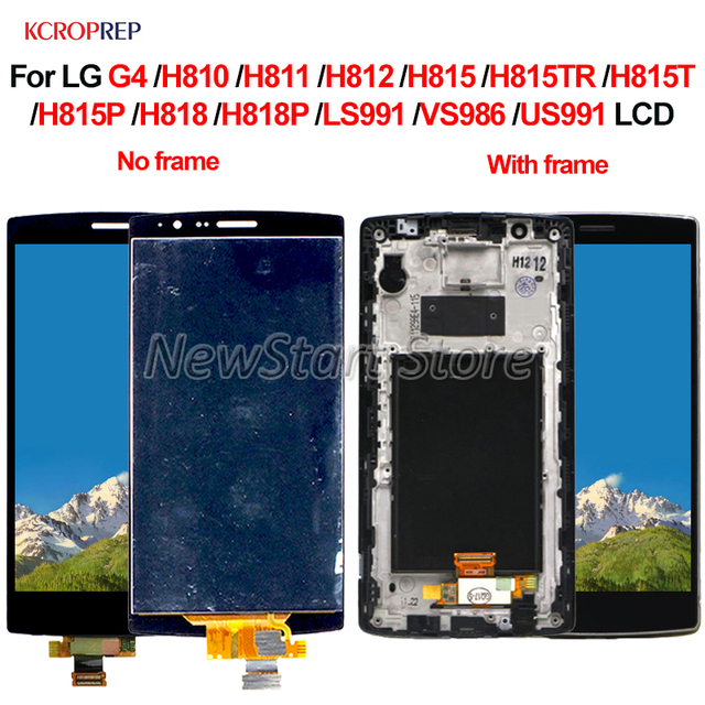"""For LG G4 H810 H811 H815 H815T H818 H818P LS991 VS986 LCD Display Touch Screen Digitizer Assembly Replacement Accessory 5.5"""""""