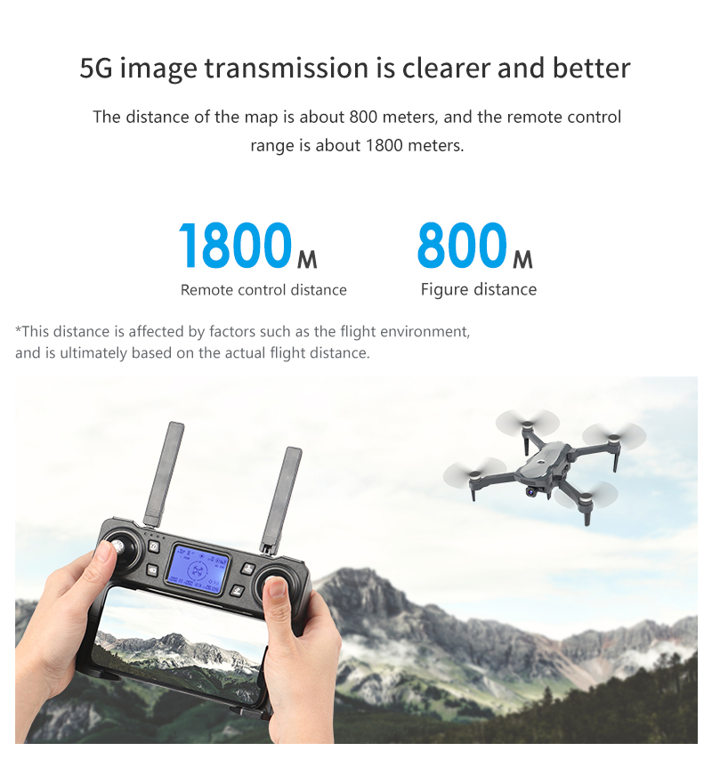 LSRC K20 Drone GPS 5G HD 4K Camera Professional 1800m Image Transmission Brushless Motor Foldable Quadcopter RC Dron Toy Gift