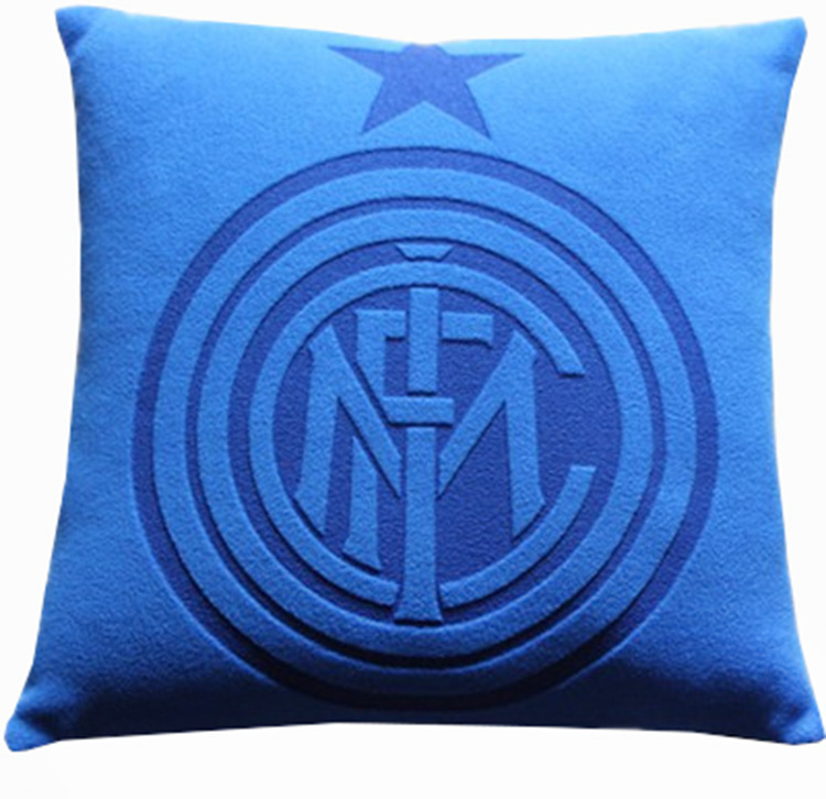 2020 European Cup World Cup Football (Ball Game) Fan Supplies Inter Milan Team Logo Printed Pillow Square Pillow
