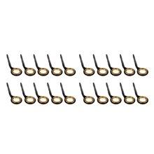 20 шт., нержавеющая сталь, направляющие для удочек, кольцо, наконечник для глаз, стержень для колец, Ремонтный комплект для резервуара, пруда, реки, океана, лодки, рыбалки