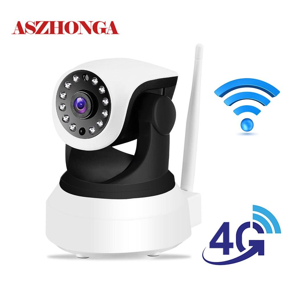 Wireless 4G WiFi Security Camera HD 1080P PTZ IP Camera Indoor Dog Home CCTV Surveillance IR Night Vision Baby Monitor Cam